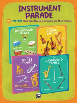 Instrument Parade: 24 Posters Illustrating Musical Instruments and The (AL-00-48268)