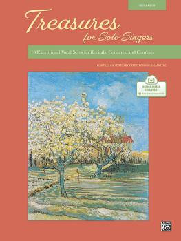 Treasures for Solo Singers: 10 Exceptional Vocal Solos for Recitals, C (AL-00-48587)