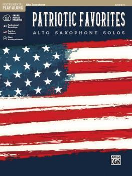 Patriotic Favorites Instrumental Solos (Alto Saxophone Solos) (AL-00-48684)