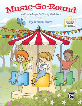 Music-Go-Round: 100 Puzzle Pages for Young Musicians (AL-00-48713)