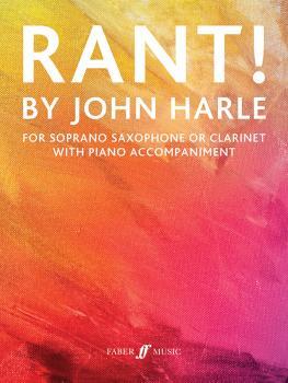 Rant! (For Soprano Saxophone or Clarinet with Piano Accompaniment) (AL-12-0571541348)