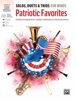 Solos, Duets & Trios for Winds: Patriotic Favorites: Flexible Arrangem (AL-00-48658)
