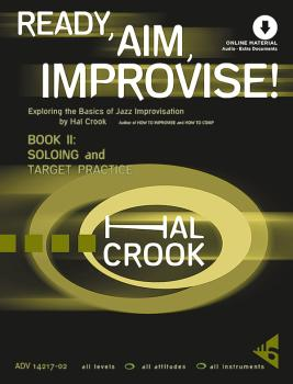 Ready, Aim, Improvise! Book 2: Exploring the Basics of Jazz Improvisat (AL-01-ADV14217-2)