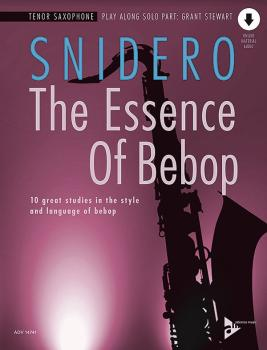 The Essence of Bebop: Tenor Saxophone: 10 Great Studies in the Style a (AL-01-ADV14741)
