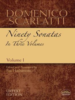 Domenico Scarlatti: Ninety Sonatas in Three Volumes, Volume I (AL-06-486087)
