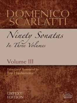 Domenico Scarlatti: Ninety Sonatas in Three Volumes, Volume III (AL-06-486176)