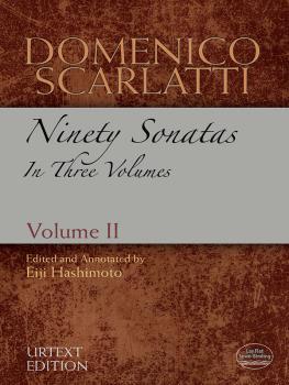 Domenico Scarlatti: Ninety Sonatas in Three Volumes, Volume II (AL-06-486168)
