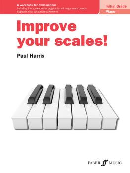 Improve your scales! Piano Initial Grade (AL-12-0571541704)