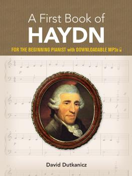 A First Book of Haydn (For the Beginning Pianist with Downloadable MP3 (AL-06-833259)