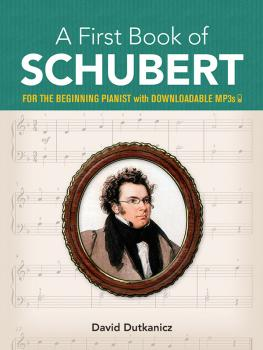 A First Book of Schubert (For the Beginning Pianist with Downloadable  (AL-06-833143)