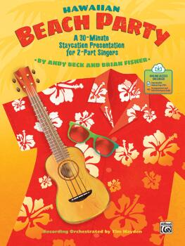 Hawaiian Beach Party: A 30-Minute Staycation Presentation for 2-Part S (AL-00-48714)