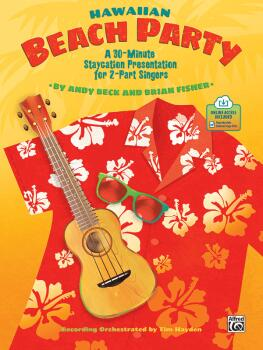 Hawaiian Beach Party: A 30-Minute Staycation Presentation for 2-Part S (AL-00-48715)