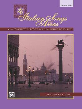 26 Italian Songs and Arias (AL-00-3402)