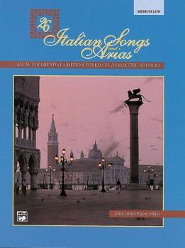 26 Italian Songs and Arias (AL-00-3403)