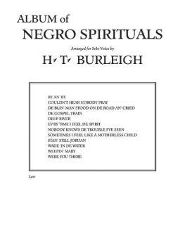Album of Negro Spirituals (AL-00-FC01433)