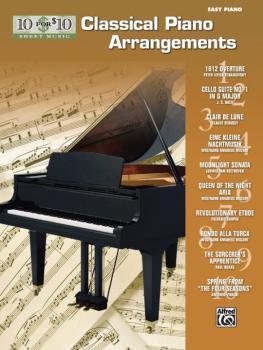 10 for 10 Sheet Music: Classical Piano Arrangements (AL-00-36317)